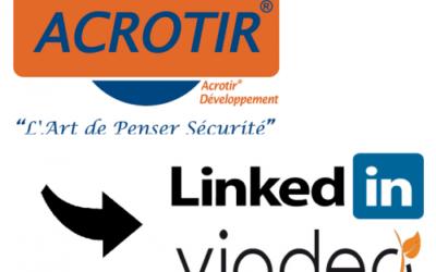 ACROTIR sur Viadeo & LinkedIn