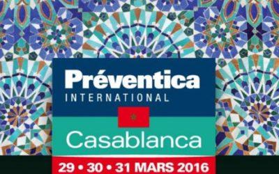 Événement : ACROTIR Développement présent au salon PRÉVENTICA Maroc