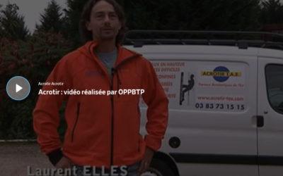 Réalisation : Prévention BTP : chantier du mois (Vidéo à voir)